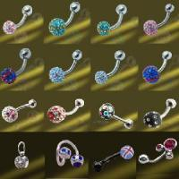 Best Crystal Ball Body Piercing (D008B-8MM) wholesale