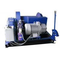 Best Electric Mine Machine With Grooved Sleeve  , Windlass Machine With Winch Controller wholesale