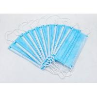 Best High Filtration Disposable Face Mask Odorless High Fluid And Respiratory Protection wholesale