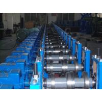 China Low energy consumption stable 760 shutter door frame roll framing machinery for wall , roof on sale