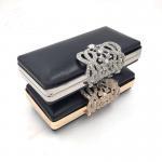Best Handbags Accessories Custom Rectangle Gold Iron Metal Purse Frame Box Clutch Bag Frames wholesale