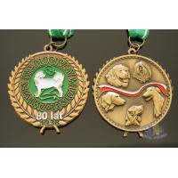 Best Bespoke animal 3D model medailles, No MOQ, Exemplary medal, just the way you design it. Expedient delivery wholesale