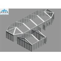 Buy cheap Transparent Or White PVC Large Pagoda Tent 6x6m / 6X17.2m Aluminium Frame from wholesalers