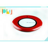 Cheap Red Universal Wireless Charger , Portable Phone Charger 1000mAh 5V For Iphone for sale
