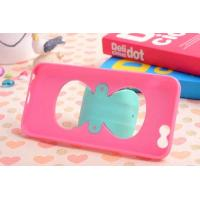 Best Fashion Bow bracket style PC+TPU material mobile phone case For iphone5S,iphone6(4.7), iph wholesale