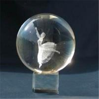Buy cheap Supply crystal engraved ball from wholesalers
