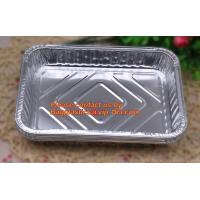 Best extra-large disposable rectangle aluminium foil deli tray food foil container for takeaway food foil containers with lid wholesale