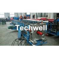 Best Round / Square Custom Downpipe Roll Forming Machine For Metal Rainspout Profile wholesale