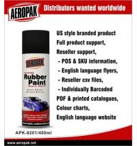 Best Abrasion Resistant Automotive Aerosol All Purpose Spray Paint , Rubber Coated wholesale