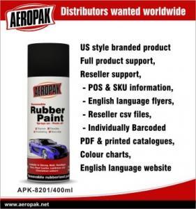Best Portable Red Car Aerosol Spray Paints , Abrasion Resistant And Flexible wholesale