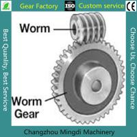 Buy cheap Rosh/CE/ISO Spiral Bevel Gear Custom Worm And Worm Gear Set For Toys from wholesalers