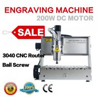 Best 3040 4 axis 1500w wood engraving carving cutting machine for sale wholesale