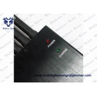 Best High Power GPS Jammer Wall Plug Power Source 5 Band Working Separately / Simultaneously wholesale