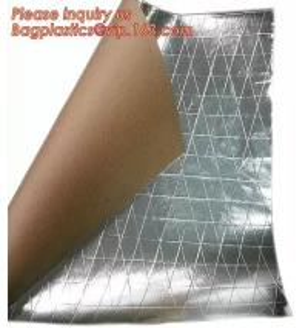 Best Aluminum Foil-Scrim-Kraft Paper Facing insulation material for building construction,radiant barrier laminated woven clo wholesale