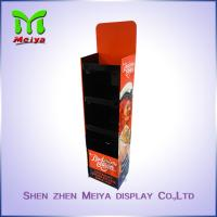 Best Assemble Paper Custom Cardboard Displays , Promotion Folding Display Stand wholesale
