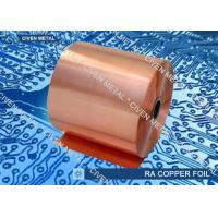 Best High Temperature Elongation Electrical Rolled Copper Foil With Anti  - Oxidizing Treatment wholesale