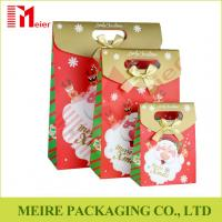 Best Santa Claus Christmas Gift Bag Merry Christmas Paper Gift Treat Cookies and candy Bags wholesale