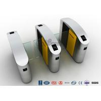 Cheap Waist Height RFID Turnstile Security Systems Automatic Flap Barrier Turn Style Door for sale