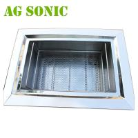 Best Automatic Stainless Steel Ultrasonic Jewelry Cleaner , Ultrasonic Silver Cleaner wholesale