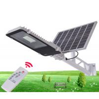 Buy cheap 10W 30W 50W Outdoor IP65 Integrated Solar Powered Parking Lot Lights With Remote Control from wholesalers
