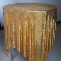 Best Aluminum Alloy Sequins Fabric Mesh For Table Cloth wholesale