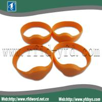 Best 125KHz Silicone RFID Wristband Tag  Suitable for High Humidity Environment wholesale