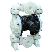 Cheap Air Operated Rubber Diaphragm Pump , Dual Diaphragm Pump No Leakage for sale