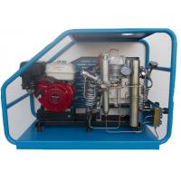 Best Gas powered scuba reciprocating air compressor filling cylinders at home or in laboratory wholesale