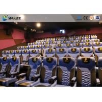 Best Business Centre 4D Movie Theater Electric Motion Rider Equipment 80 Seats wholesale