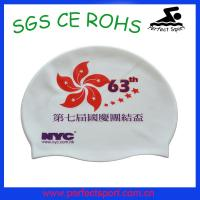 Cheap Summer popular soft healthy silicone swim cap.silicone swim cap for sale