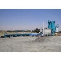 Best 80T Hot Aggregate Silo Asphalt Plant With 300000 Batches Mixing Blade Life Time wholesale