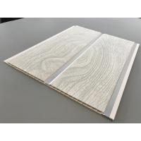 Cheap PVC Wood Panels Peanut Pattern Groove Shape Size 250 × 7mm With High Strength for sale