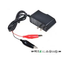 Best Alligator Clips Battery Charger With LED When Charging Red Charged Green wholesale