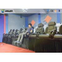 Best Amusement Park 5D Small Cinema Genuine Leather Chairs for Theater Mobile Cinema wholesale
