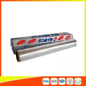 Best Multi Purpose Aluminium Foil Roll , Kitchen Aluminum Foil Paper For Food Wrapping wholesale
