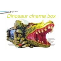 Best Removable Mobile 5D Cinema With Hydraulic / Pneumatic System Motion Theater Chair wholesale