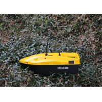 Buy cheap Yellow mini remote control Bait boat range 350m DEVC-113 AC110-240V from wholesalers