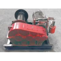 Best Electric / Hydraulic Marine Winch Lebus Double Groove Drum With Wire Rope wholesale