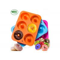 Best Non-Stick Donut Mold, Silicone Baking Molds for Donuts, Easy to Bake Full Size Perfect Shaped Doughnuts wholesale