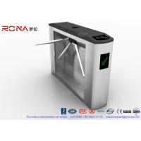 Best Tripod Turnstile Half Height Turnstile Entrance Gates Electric RFID Card Reader wholesale
