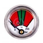 Best Chrome Plated Fire Extinguisher Gauge Diaphragm Pressure Gauges JQ0808 wholesale