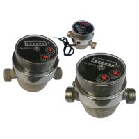 Best Plastic Residential Mechanical Water Meter For Drinking Water Measuring LYH wholesale