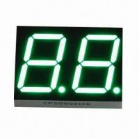 China 0.8 Inches Pure Green Dual-digits Seven Segment Display/ Dual Digits LED Digital Display/ 16 Segment on sale