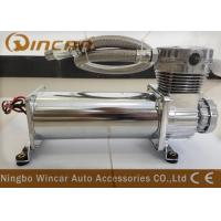 China Silver Suspension Auto Air Compressor , CE Approved Small Air Compressor For Tires on sale