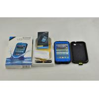 Blue IP 68 Waterproof Cell Phone Case PC For Samsung Galaxy S3 I9300