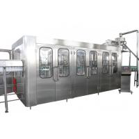 Best High Capacity Automatic Drink Production Line 8000BPH With CE Certificate wholesale