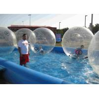 Best Movable Inflatable Human Water Ball Plato Tarpaulin Outdoor Zorbing Ball wholesale
