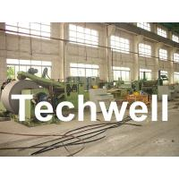 Best Automatic Slitting Machine Line Composed of Uncoiler, Pinch / Leveling, Slitting, Recoiler wholesale