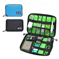 Best Digital Cable Organizer Travel Storage Bags Size  Customized With Zipper wholesale
