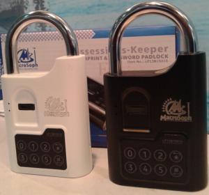 Best Fingerprint biometric padlock used in school locker, gym locker, gun cabinet;apartment and condo wholesale